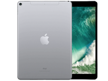 """Online checkout and shipping: iPad Pro 10.5"""", Retina, 256GB, Cellular unlocked, Space Gray"""