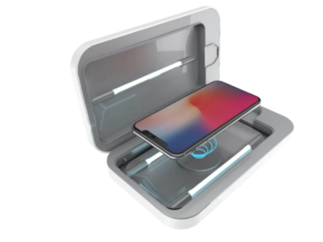 Online checkout and shipping: Professional UV Smart Phone Sanitizer