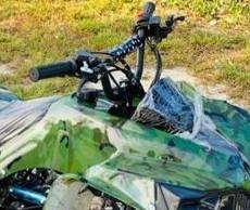 Camouflage Quad Bike
