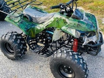 Sell: Camouflage Quad Bike