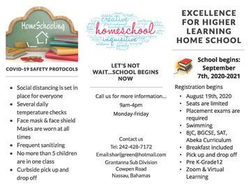 Service: HomeSchooling