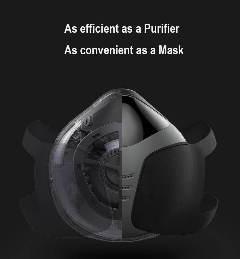 Powered N95 Face Mask