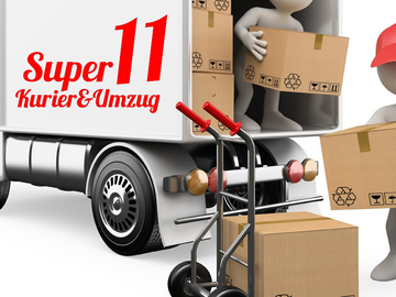 Umzugshelfer mit Transporter: (ONLİNE) Kurier&Umzug