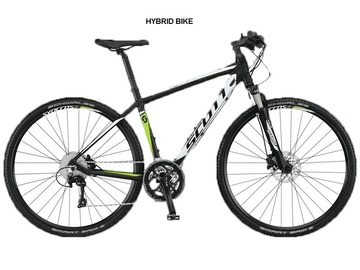 SCOTT HYBRID BIKE - Noleggio touring bike Castellina in Chianti