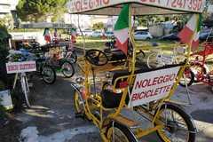Affitto con pagamento online: Risciò elettrico (2/3 posti) - Noleggio Bici Rosignano