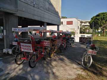Affitto con pagamento online: Risciò (2/3 posti) - Noleggio Bici Rosignano