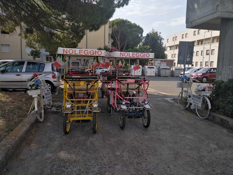 Risciò (4/6 posti) - Noleggio Bici Rosignano