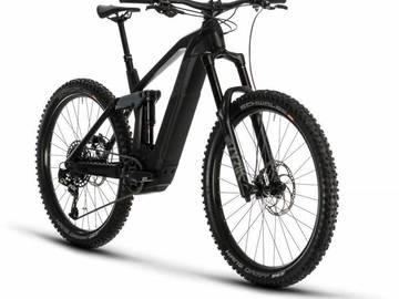 Affitto con pagamento online: E-Mtb Cube Stereo Hybrid 160 HPC SL 625 - Noleggio Bici Canazei