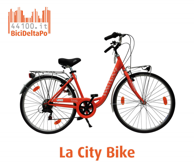 CITY BIKE CLASSICA 26'' - Noleggio city bike Marina di Ravenna
