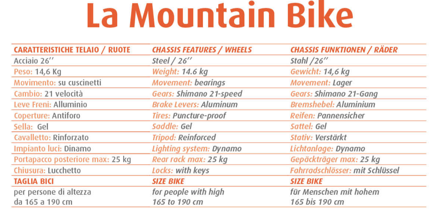 Mountain Bike - Noleggio Bici Marina Romea