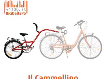 Affitto con pagamento online: Bici + CAMMELLINO - Noleggio bici e cammellino Marina di Ravenna