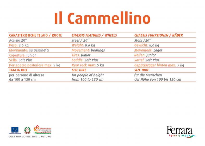Bici + CAMMELLINO - Noleggio bici e cammellino Lido Adriano