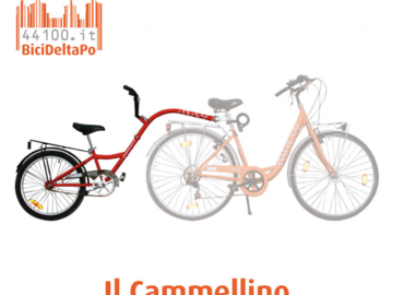 Affitto con pagamento online: Bici + CAMMELLINO - Noleggio bici e cammellino Ravenna