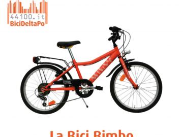 Affitto con pagamento online: BICI BAMBINO 20'' - Noleggio bici bambino Lido Adriano