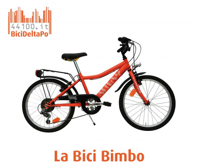 BICI BAMBINO 20'' - Noleggio bici bambino Bologna