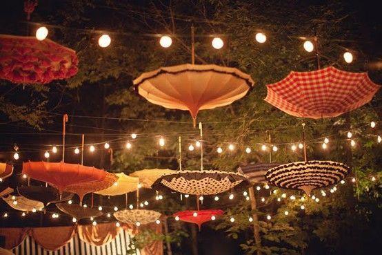 Dreamy Umbrella Decoration