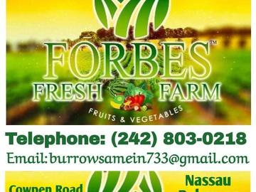 Service: Forbes Fresh Farm