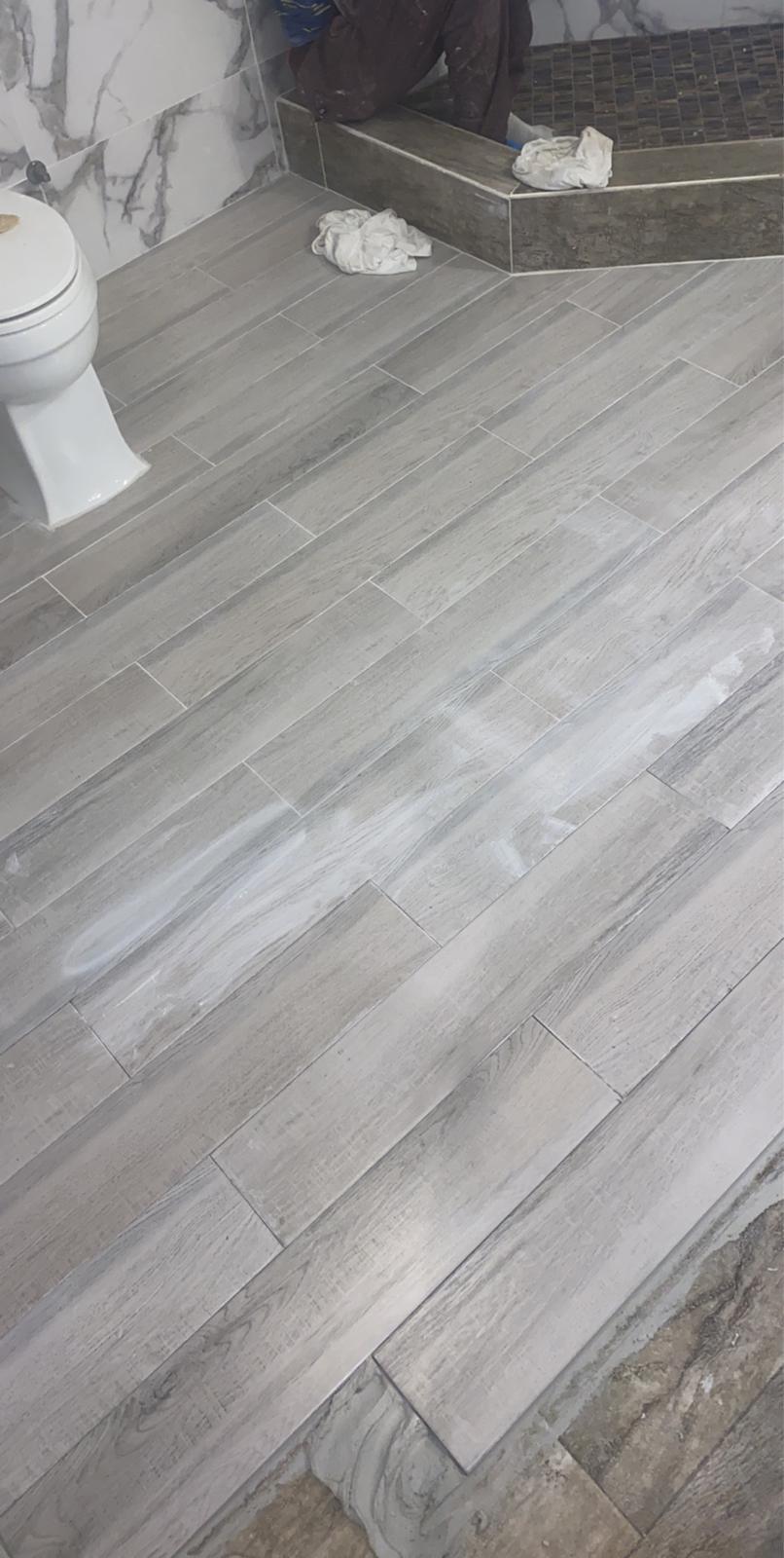 6x24 Porcelain Plank Wood Look Tile