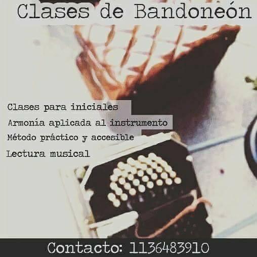 Clases de Bandoneón (Tango) On Line