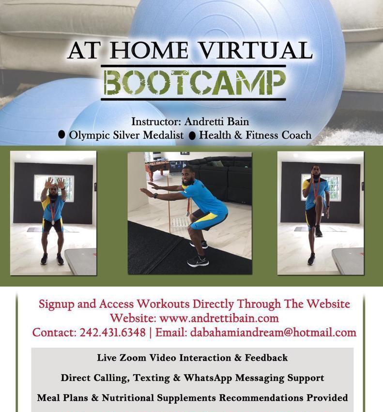 At Home Virtual BOOTCAMP
