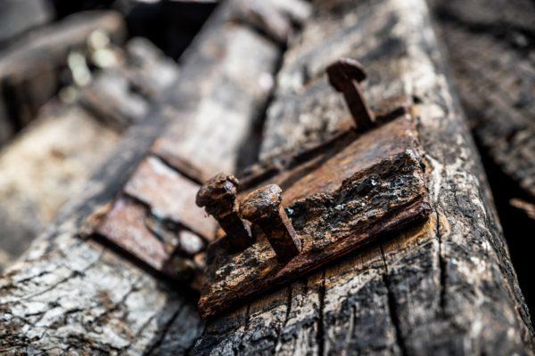 Recycled Timber Railway Sleepers