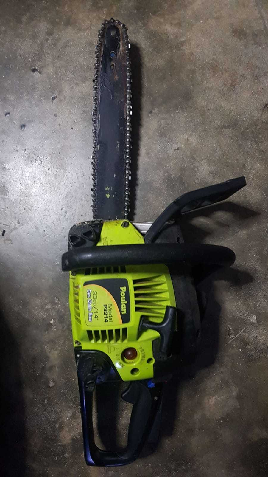 Poulan 16-inch Chainsaw