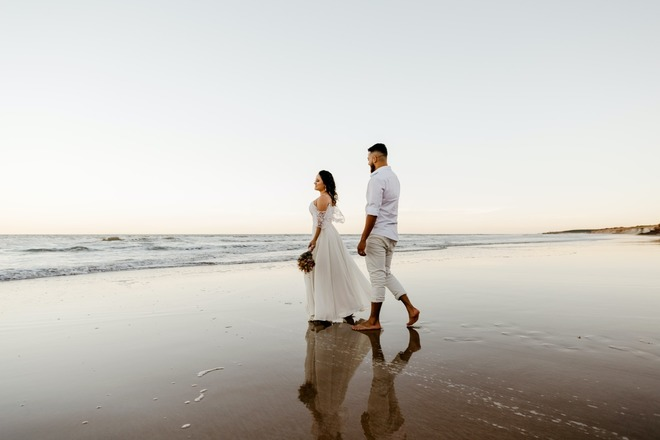 Nightly rental: Beach Vibes ~ Reception Package