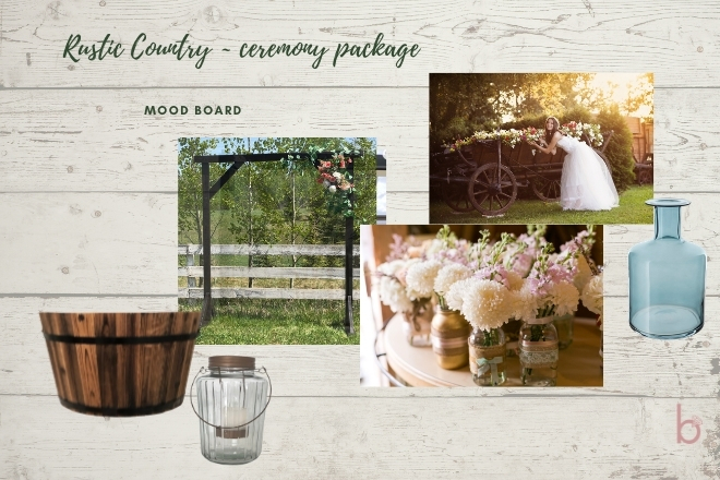 Rustic Country - Ceremony Package