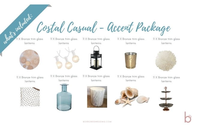 Coastal Casual - Accent Package
