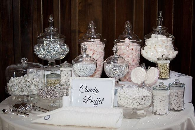 Nightly rental: Candy Bar Set