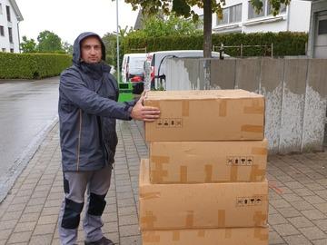 Umzugshelfer: Basel und Umgebung Montage, Demontage und Umzugshelfer.