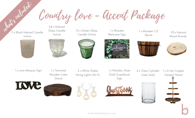 Country Love ~ Accent Package