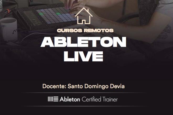 Clases: MAD En Casa / Curso de Ableton Live