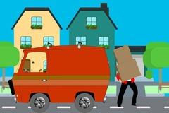 Umzugshelfer mit Transporter: Transporter inkl. 1 Umzugshelfer