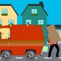 Umzugshelfer mit Transporter: Transporter inkl. 2 Umzugshelfer