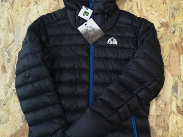 Selling: Fjern Down Jacket Black/Cobalt