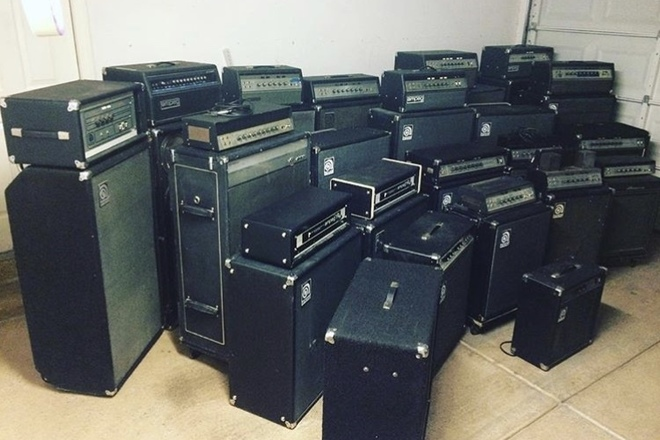 Ampeg amplifiers