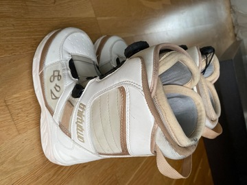 Selling: Women's size 4 snowboarding boots