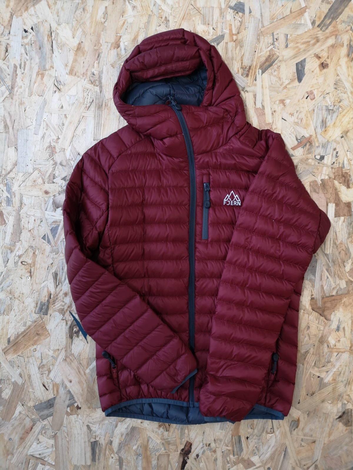 Fjern Down Jacket Red