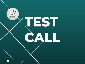 Free: TEST CALL (MORROCO)