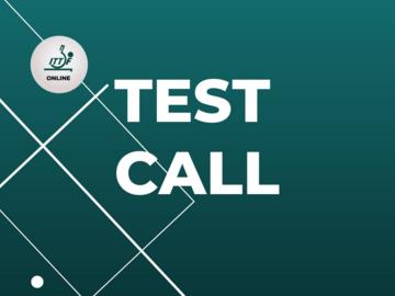 Free: TEST CALL (SAO TOMEE PRINCIPE)