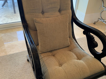 Classical Padded Chair