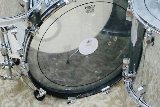 Fibes Chrome over Fiberglass 4pc Drum Set (Martin Era)
