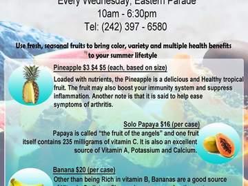 Event: Fresh Fruit (Every Wednesday)