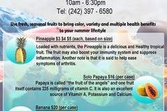 Event: Fresh Fruit (Every Wednesday)