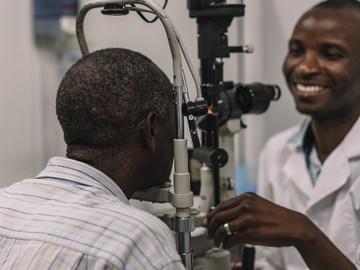 Consultation: Eye Doctor