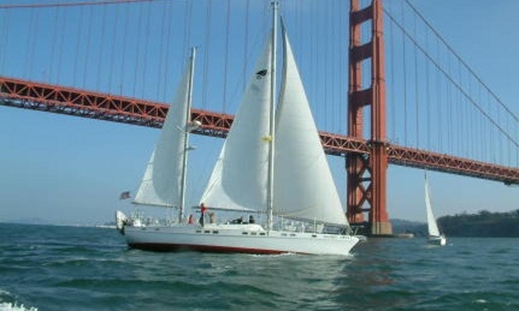 Sail San Francisco Bay On Yacht with Captain Pam