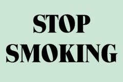 Consultation: Stop Smoking