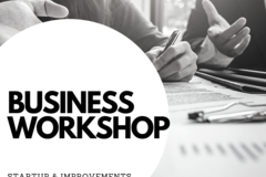 Consultation: Business Startup and Improvement Workshop