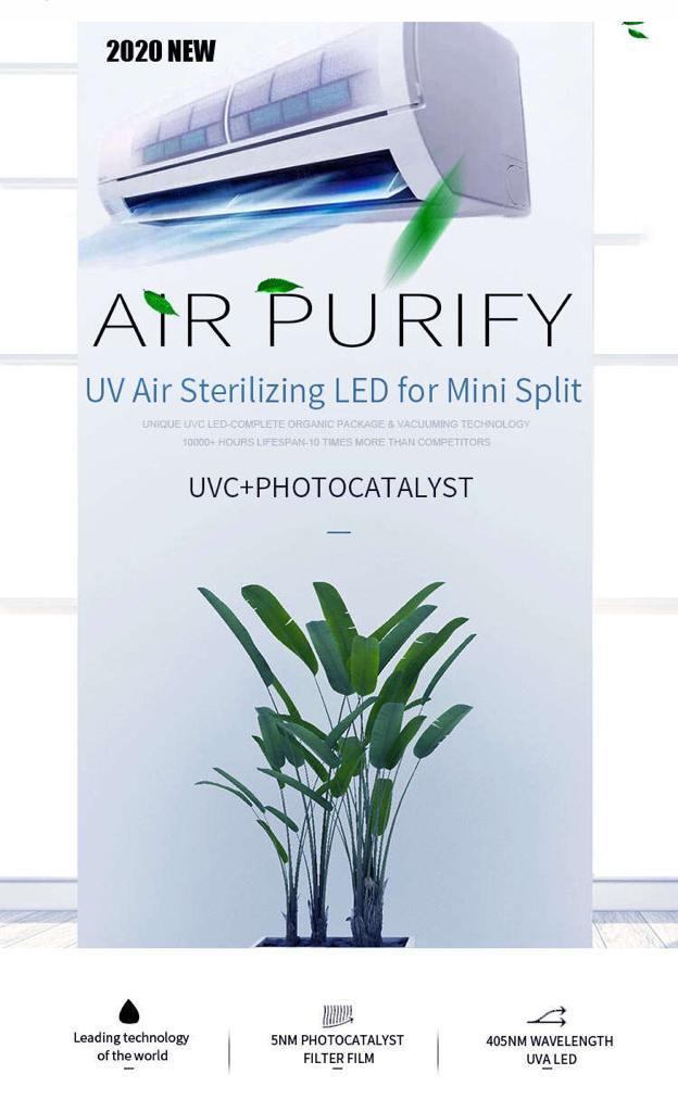 UV Sterilizing LED for Mini Split